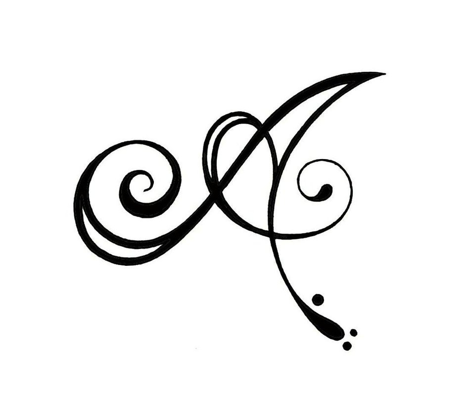 Tattoo Designs Of Letter A: 70+ Letter A Initial Tattoo Designs, Ideas And Templates