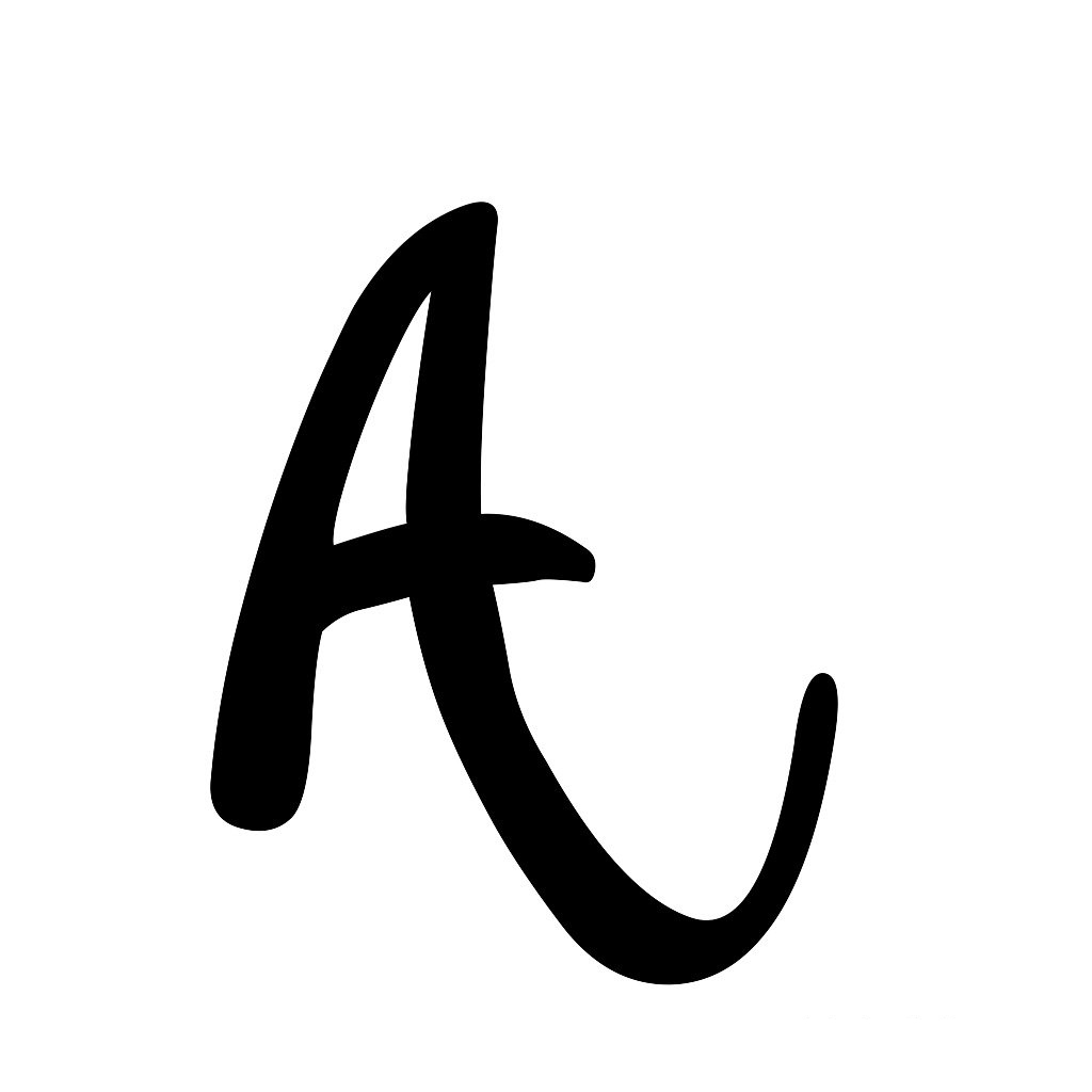 letter-A-tattoo-template-06 Tattoo Lettering Template on different fonts for, flash books, baby girl, last name,