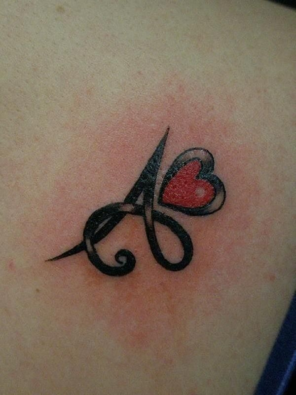 70+ letter a tattoo designs, ideas and templates - tattoo me now