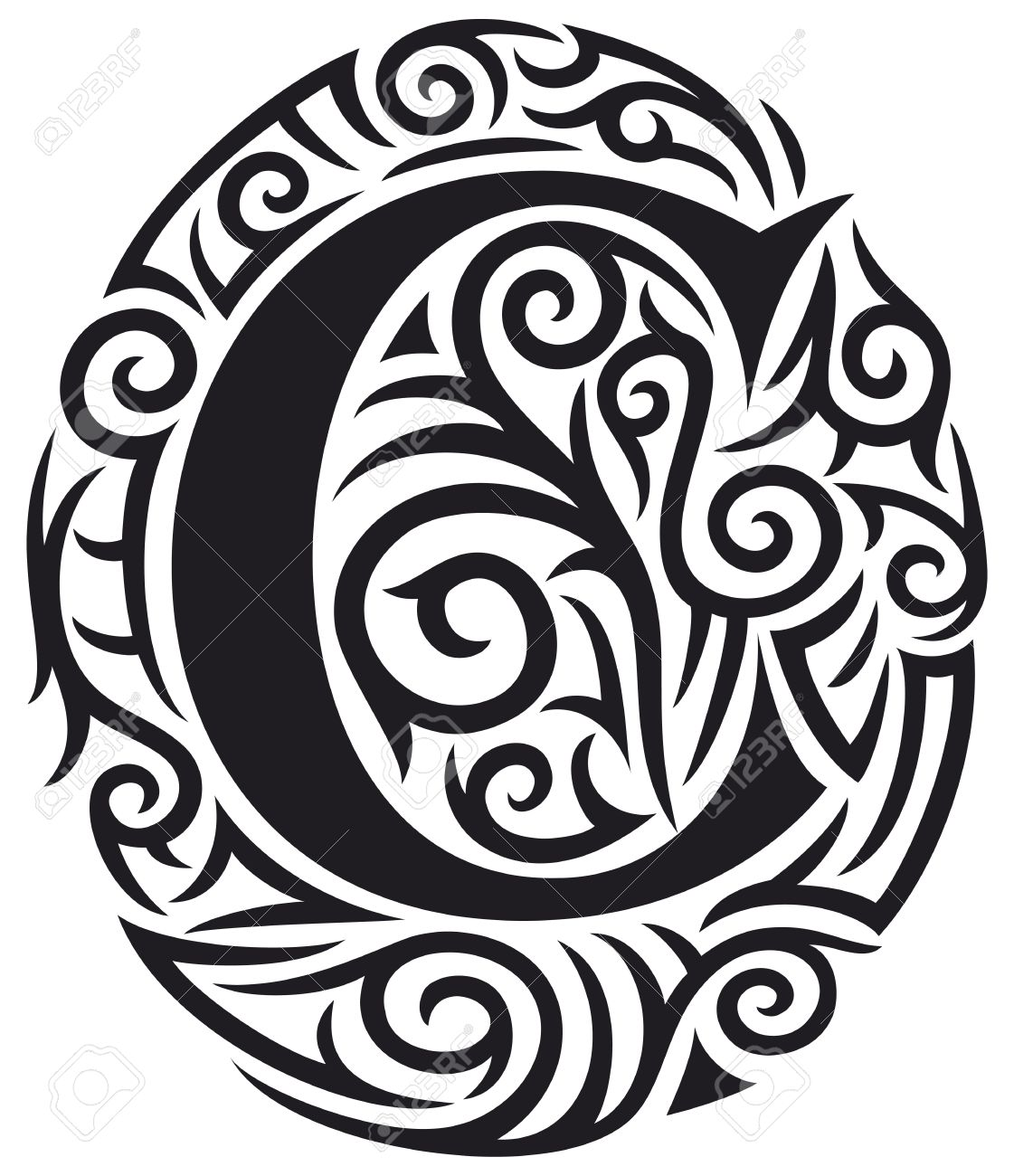 50+ Letter C Tattoo Designs, Ideas And Templates