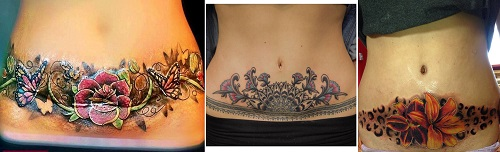C-Section-Vagina-Tattoo-Cover-Up