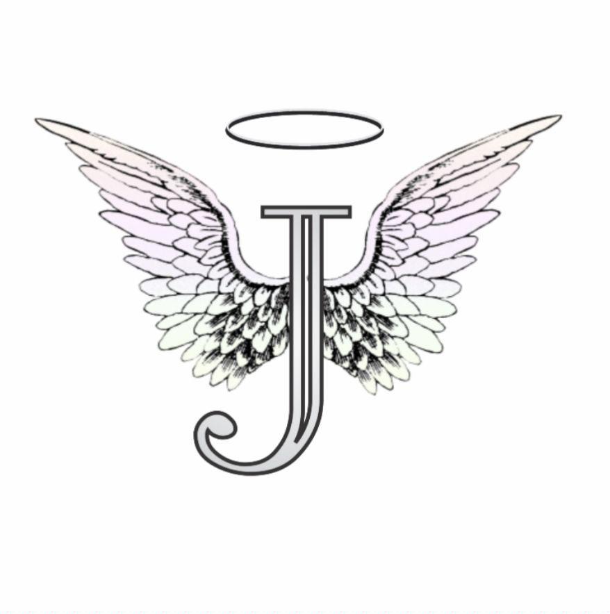 Letter-J-Tattoo-Template-18 Tattoo Designs Templates Letter J on lower case alphabet, logo design, jellyfish craft, cut out, jungle animal, printable juice,