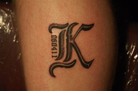 7eb079768 60+ Letter K Tattoo Designs, Ideas and Templates - Tattoo Me Now