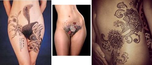 Sexy frauen mit tattoos