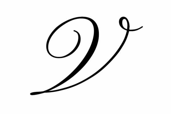 S And V Letter Tattoo Love: 50 Letter V Tattoo Designs, Ideas And Templates