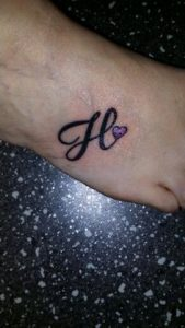 Letter-H-Tattoos-43-on-foot-169x300 Tattoo Lettering Templates on last name, flash books, different fonts for, baby girl,