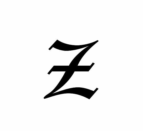 30 Letter Z Tattoo Designs, Ideas And Templates