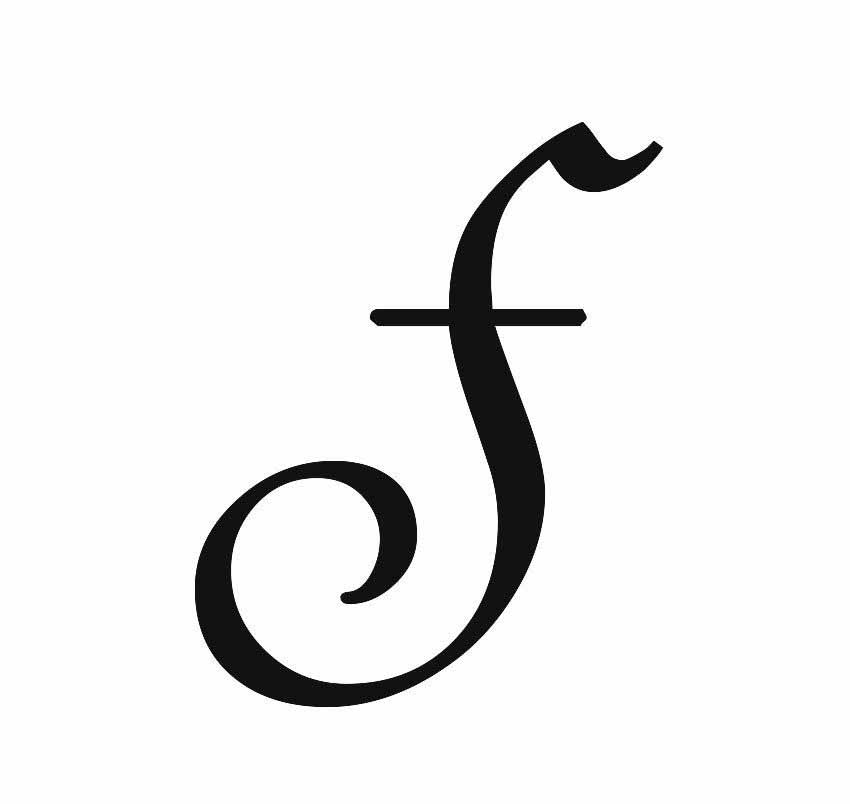 30 Letter F Tattoo Designs, Ideas And Templates