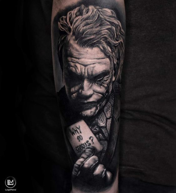Joker Tatto Hand: 80+ Insane Joker Tattoo Designs And Ideas