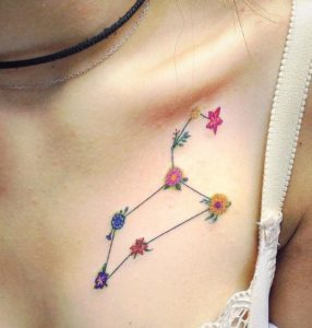 25 Leo Constellation Tattoo Designs Ideas And Meanings Tattoo Me Now