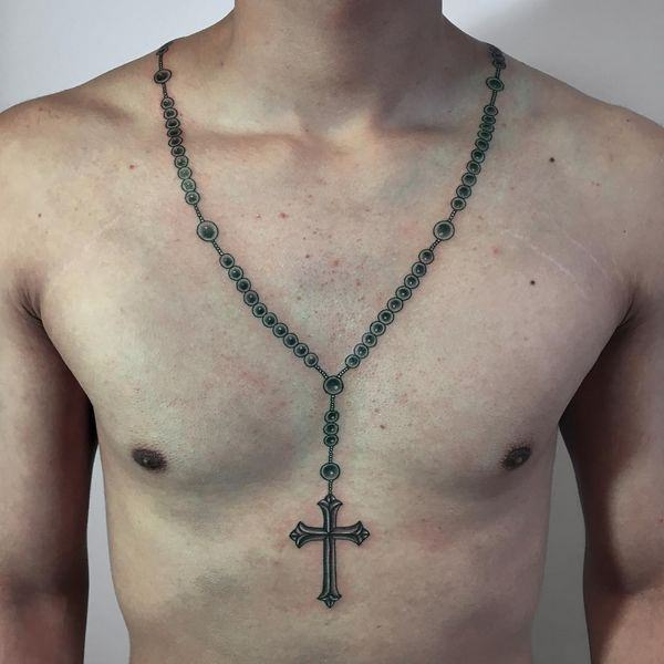 Rosary Tattoos Ideas Meaning Rosary Beads Tattoo Designs