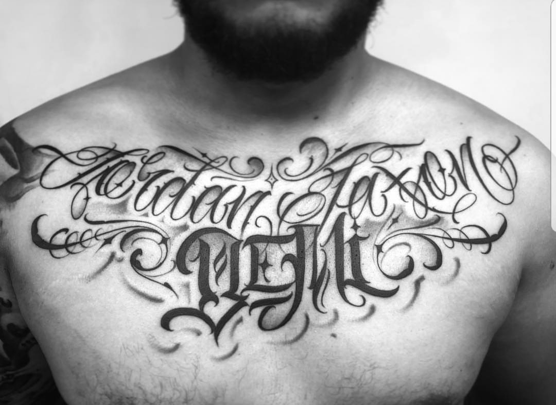 Tattoo Lettering - Awesome Lettering Tattoos, Designs & Fonts