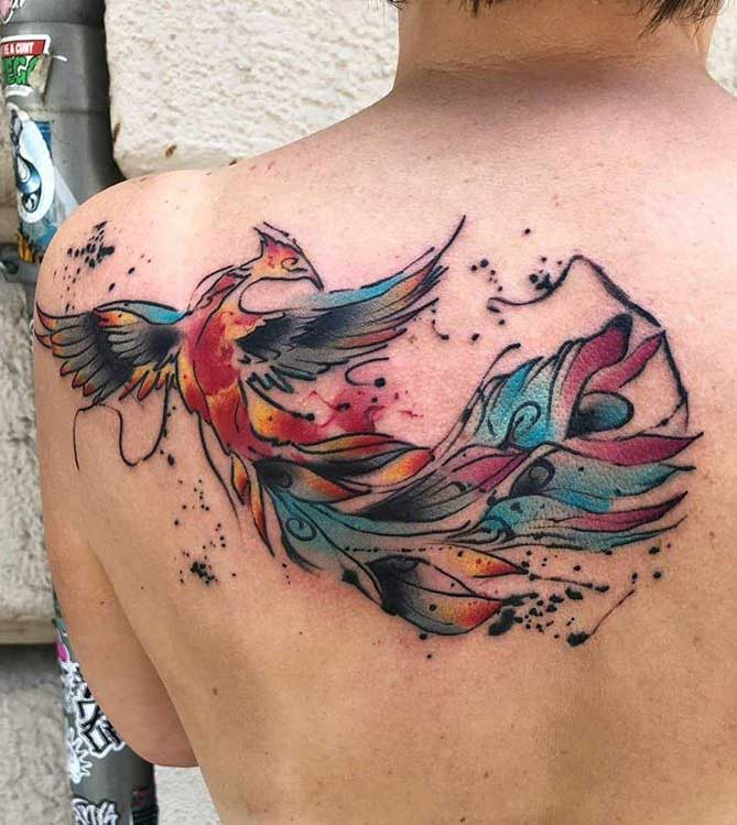 100+ Unique Shoulder Blade Tattoos, Designs And Ideas