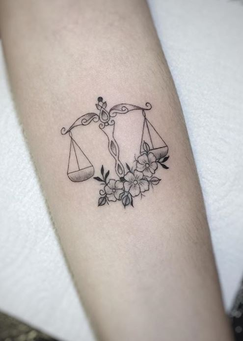 85 Unique Libra Tattoos To Compliment Your Personality And