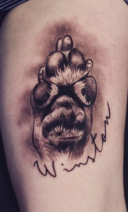 50 Adorable Dog Paw Tattoos And Ideas To Pay Homage To Your