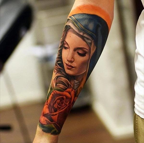 75 Inspiring Virgin Mary Tattoos Ideas & Meaning - Tattoo