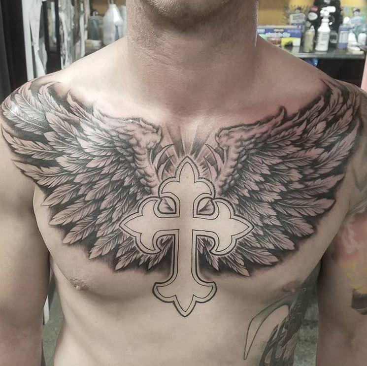 Angel Wing Tattoos On Chest Best Tattoo Ideas