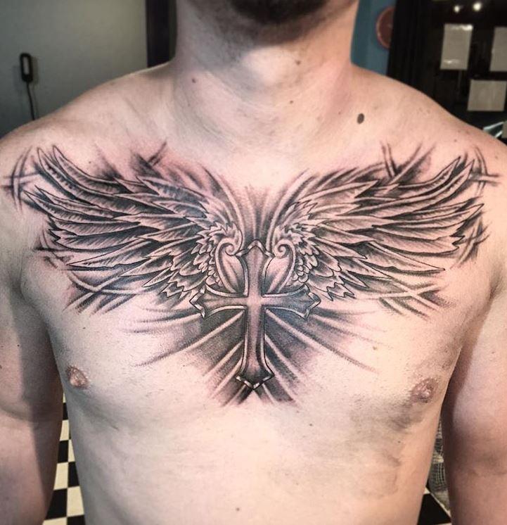 Cross With Wings Tattoos Best Tattoo Ideas
