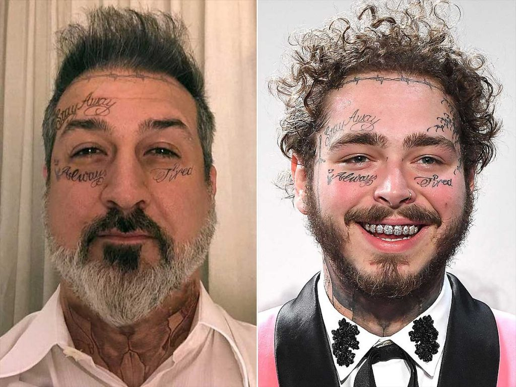 Post Malone Tattoo Ideas: Stories And Meanings Behind Joey Fatone's Tattoos