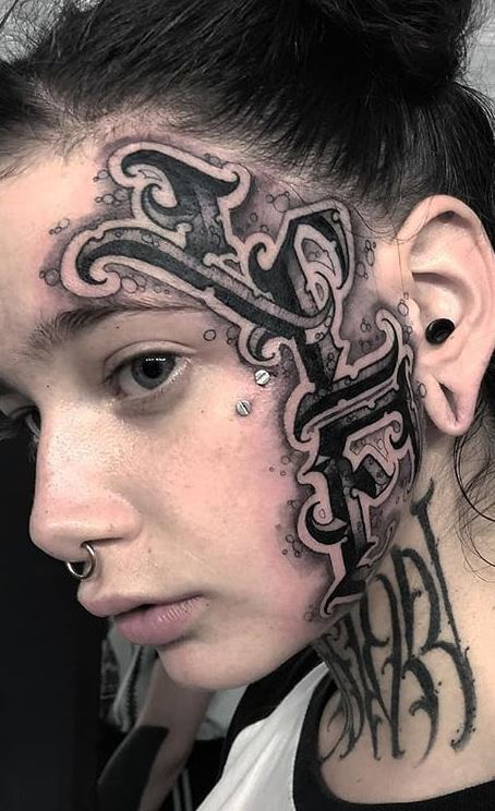 125 Trendy Face Tattoos And Ideas For Men Women Tattoo Me Now
