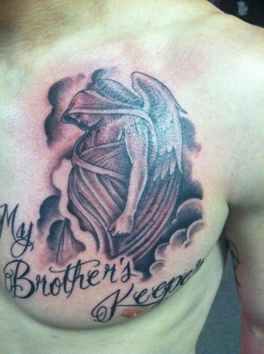 50 Best My Brother's Keeper Tattoos, Ideas & Meanings