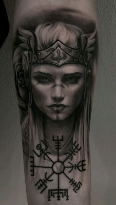 Tattoo freya Over Freya