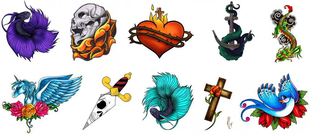 5000 High Quality Tattoo Designs Stencils Photos Fillers Backgrounds And More